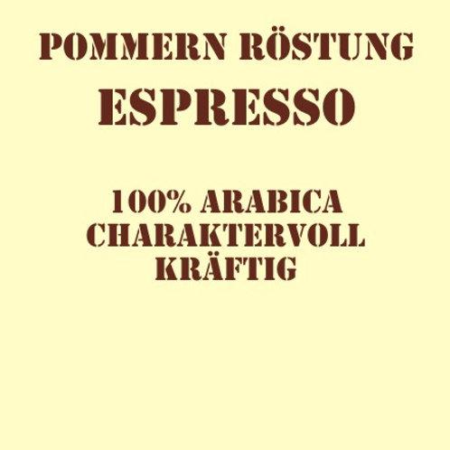 Pommernröstung Espresso