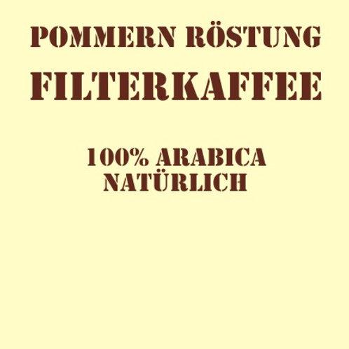 Pommernröstung Filterkaffee