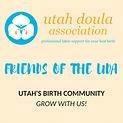 Utah Doula Associatin Business Partner and Member