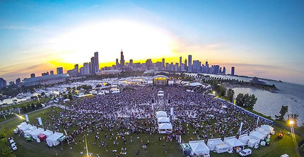 Northerly Island Concerts from the water