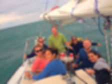 Sailing in Chicago, Sailing Lessons in Chicago, Sailing School, Private Cruises in Chicago, Private Cruises
