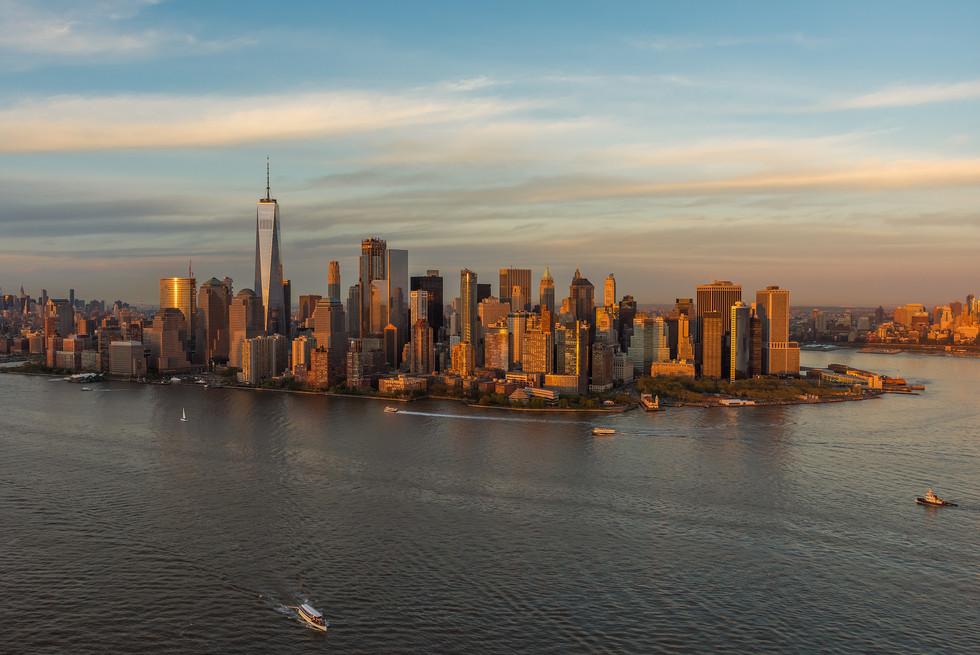 Lower Manhattan Aerial