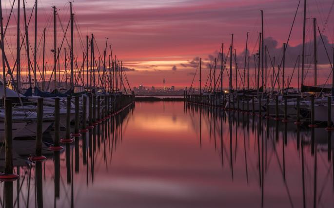 Pre dawn colours