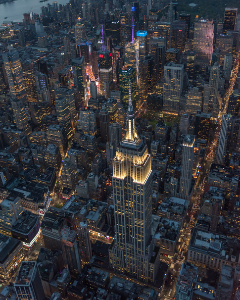 Midtown Manhattan Aerial