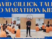David Gillick inspires Marathon Kids