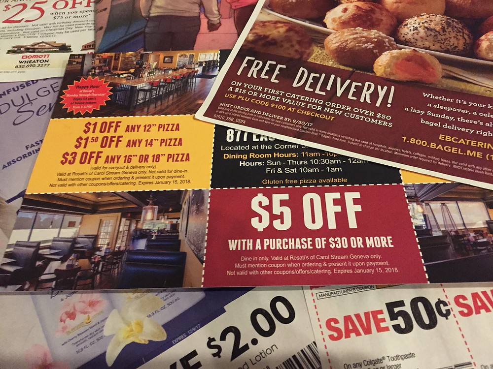 Stack of direct mail