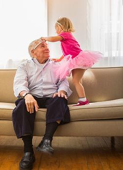 Grandfather and girl in tutu.jpg