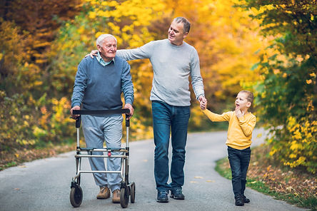 Caregivers taking care of seniors, elders and children need services and assistance to help with their duties
