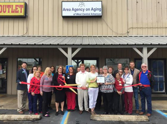Area Agency on Aging in Clarksville Chamber of Commerce Grand Opening