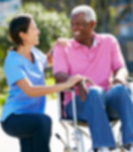senior client and home care aide, personal care aide, certified nursing assistant, disabled adults