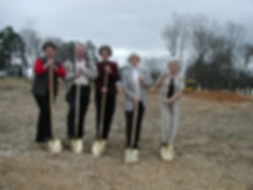 Groundbreaking for Senior Adult Center - more Meals on Wheels