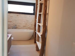 Bäumiges Badezimmer
