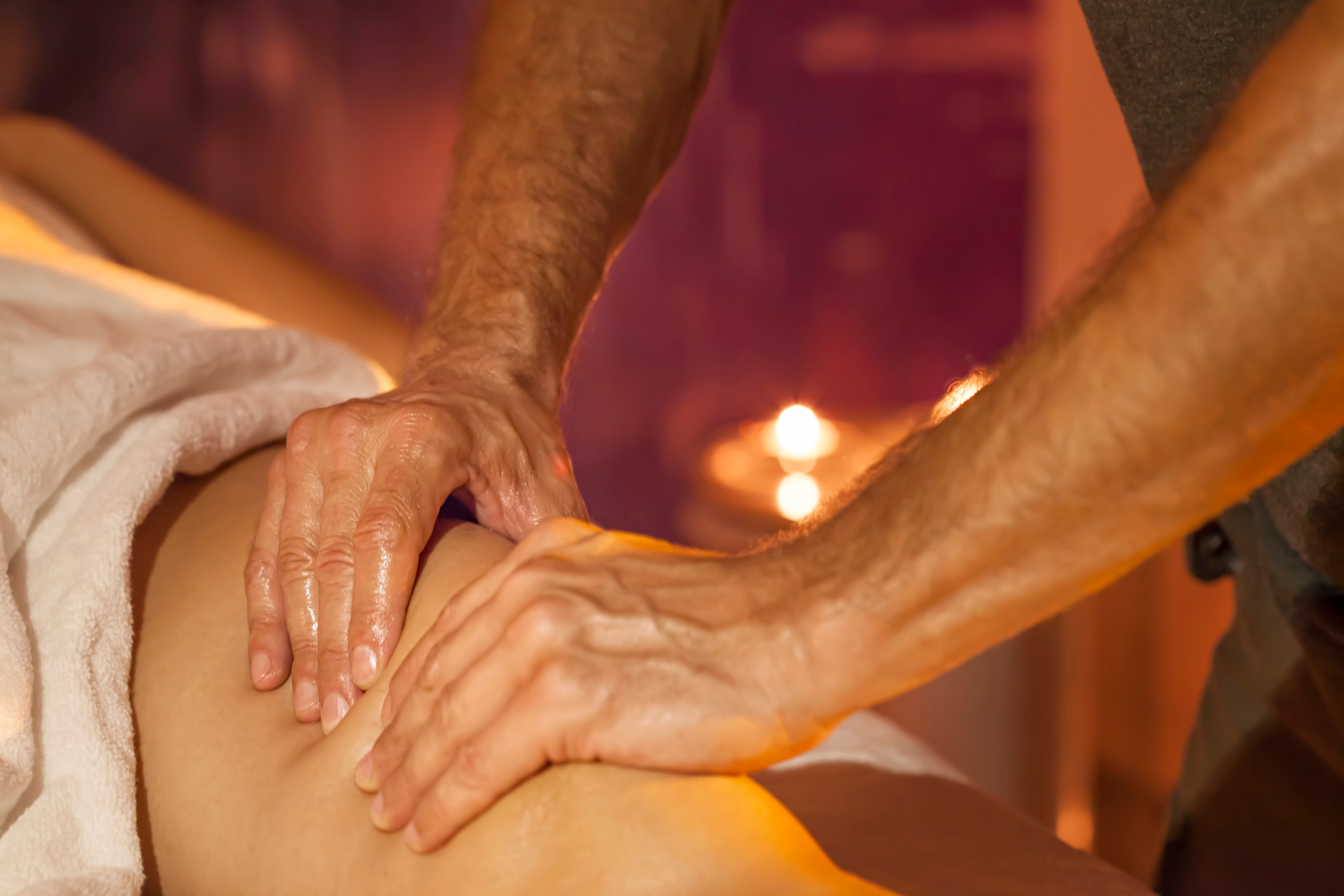 Swedish Half Body Massage