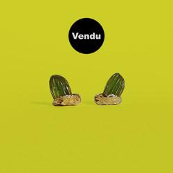 daum cactus earrings boucles d'oreilles