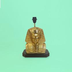 lampe pharaon toutankhamon egypt brass