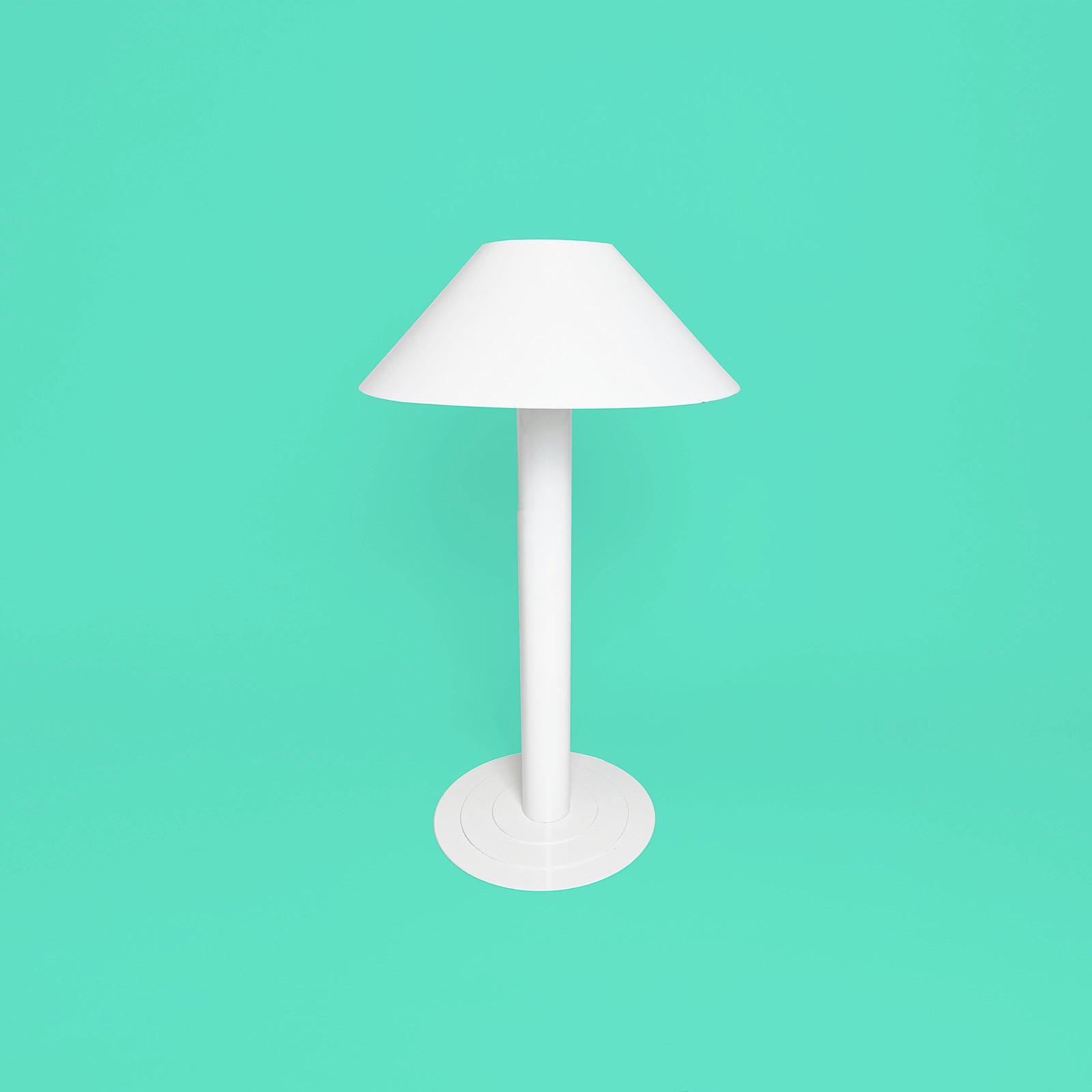 lampe arlus blanche années 70 80