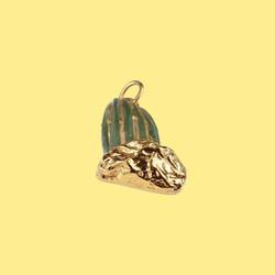 hilton mcconnico daum cactus pendant necklace pendentif