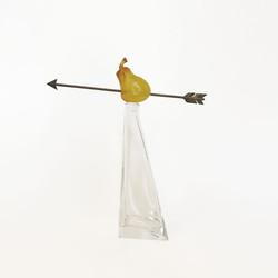 carafe-daum-hilton mcconnico pear lost arrow of william tell poire fleche guillaume