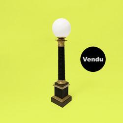 lampe colonne carcel restauration empire napoleon xixe siecle