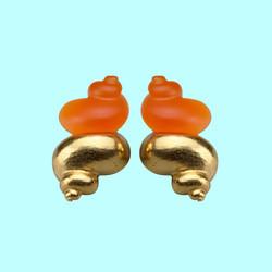 robert goossens christian dior perfume earrings shell