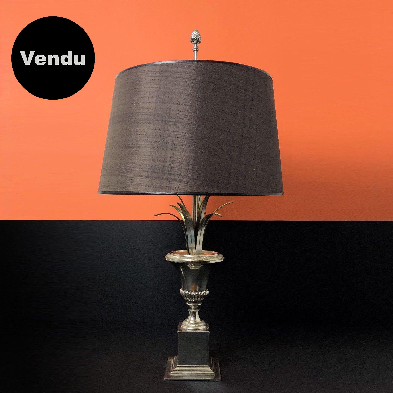Lampe palmier des années 70