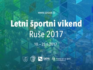 Letni športni vikend Ruše 2017
