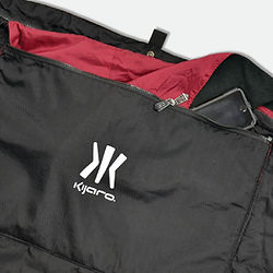 Kijaro Kubie accessory pocket.
