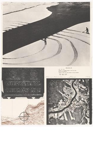 """1973: """"Projects"""" Artists Proofs by Dennis Oppenheim"""