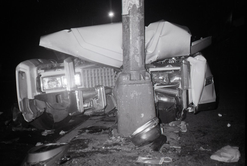 Disaster 2, Ave B& 3rd St NYC 1984