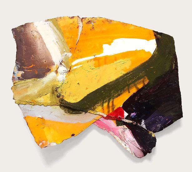 MARGOT SPINDELMAN Untitled Yellow Overlap (2020)