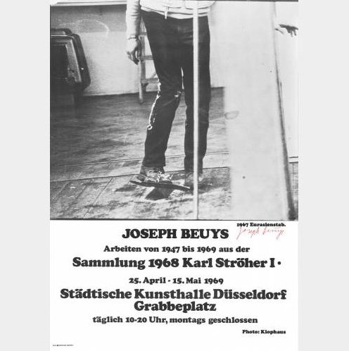 1973-1985: Various Signed and Unsigned Posters by Joseph Beuys