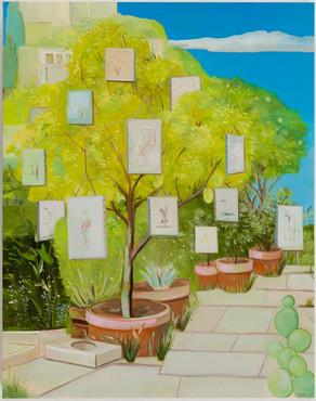 Backyard Retrospective Exhibition, Silverlake CA, 2020