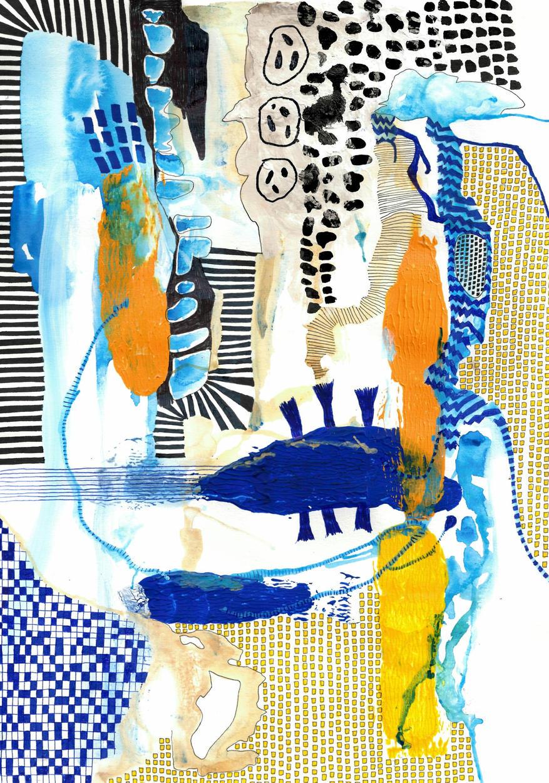 ELLEN CLAES: Untitled 2, 2020
