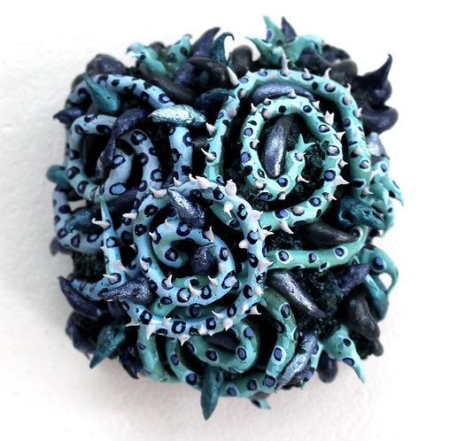 Blue Serpent Spirals, 2020