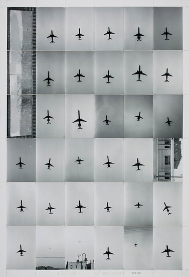 Visual Journal BW 708: Airplanes in Queens, 2013