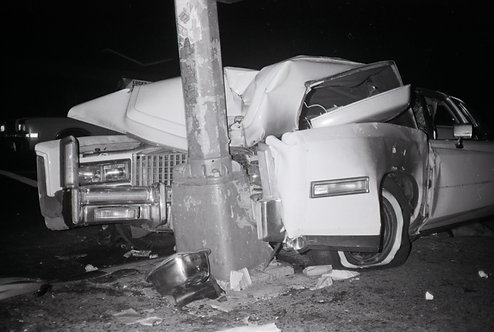 Disaster 1, Ave B & 3rd St NYC 1984
