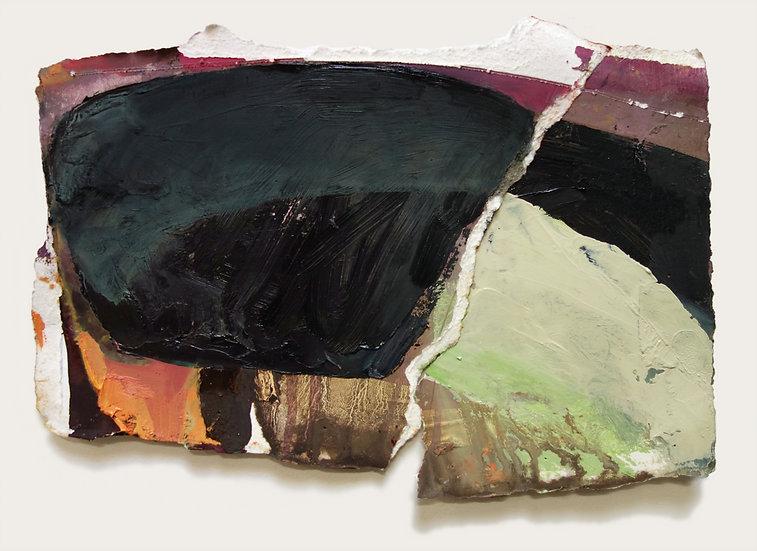 MARGOT SPINDELMAN Untitled Green Corner (2020)