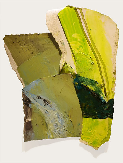 MARGOT SPINDELMAN Untitled Green Bend (2020)