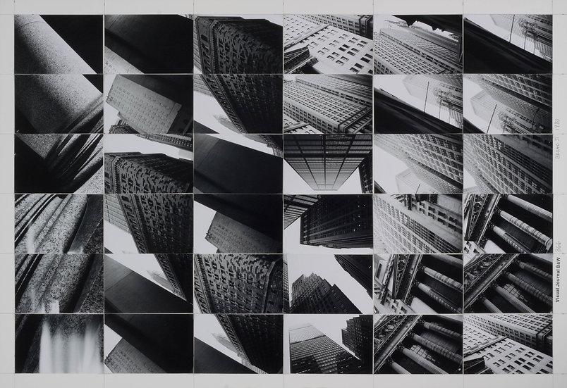 Visual Journal BW 366, Financial District, 1980