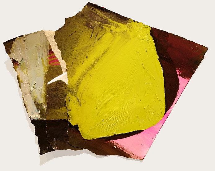 MARGOT SPINDELMAN Untitled Pink Tilt (2020)