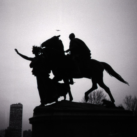 Augustus Saint Gaudens, Grand Army Plaza, NYC, 1985