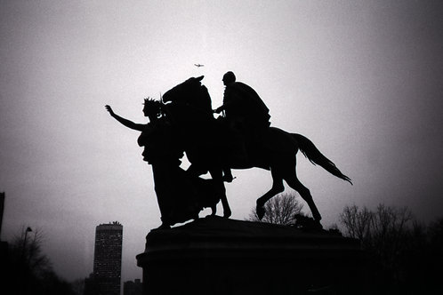 TOM WARREN Augustus Saint Gaudens, Grand Army Plaza, NYC 1985