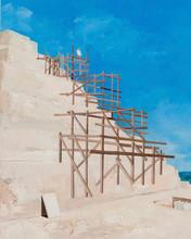 Proposal for Painting Exhibition at Saqqara, 2019