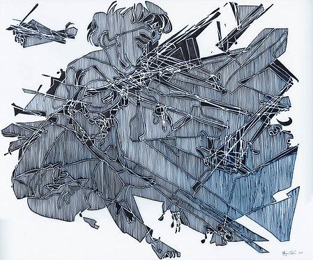 Marjorie Van Cura: Untitled 0318 (2019)