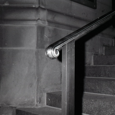 Church Steps, NYC, 1985.