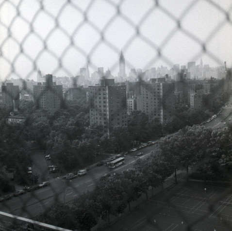 Empire from Williamsburg Bridge, 1985