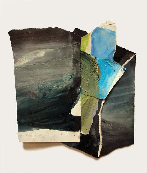 MARGOT SPINDELMAN Untitled Blue Intersection (2020)