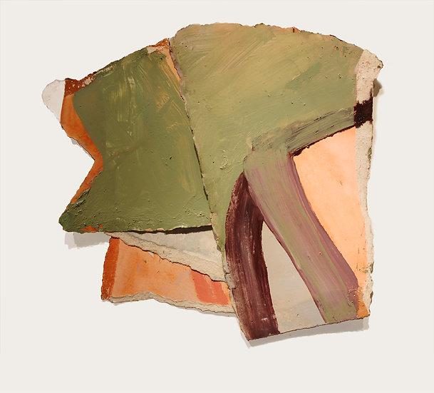 MARGOT SPINDELMAN Untitled Green Top (2020)