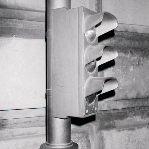 Traffic Light, Paris, 1986
