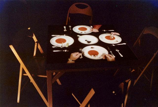 """1975: """"Cardplayers"""" and """"Silent Dinner"""" by Bill Lundberg"""